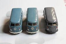Konvolut 3 Stk. Wiking VW T1 Kastenwagen Bus 1:40