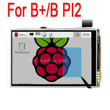 "Raspberry Pi B+/B/PI2 3.5"" TFT LCD Touch Screen Module 320*480 RGB Display Board"