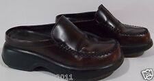Dansko Brown red with lace Professional Clogs Mikala Cabrio Cordovan 36 / 6 us