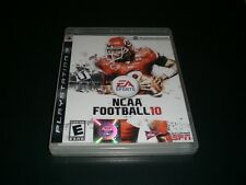 "NCAA Football 10 (PlayStation 3) Complete ""Great Condition"""