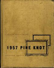 Louisiana College Pineville 1957 Pine Knot Yearbook Annual