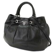 AUTHENTIC PRADA NAPPA LEATHER SPORT 2 WAY CROSS BODY HANDBAG BAG PURSE $1850!!!