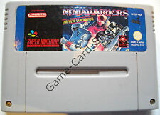 SNES-Ninja Warriors-The New Generation-pal-solo módulo-usado