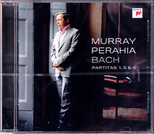 Murray PERAHIA: BACH Partita No.1 5 6 SONY 2009 CD Partiten Keyboard Piano NEU