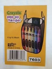 Kids Crayola Pop-Up HamperTOYS/CLOTHES with Straps for hanging.FREE SHIPPING!!!