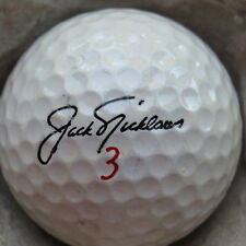 (1) JACK NICKLAUS SIGNATURE LOGO GOLF BALL (CIR 1973 - MACGREGOR MUIRFIELD) #3