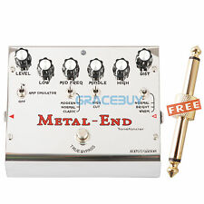 Biyang ToneFancier METAL END PRO Distortion Pedal Guitar Effect Pedal Processor
