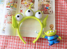 DISNEY TOY STORY ALIEN EARS COSTUME PLUSH HAIR HEADBAND BIRTHDAY PARDY FAVORS