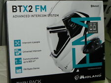 MIDLAND interfono BTX2FM TWIN KIT DOPPIO wp bluetooth due pezzi