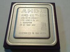 AMD K6 3+ 450ACZ SOCKET 7 BRAND NEW!