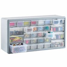 VonHaus 30 Drawer Parts Storage Organiser Cabinet Home Garage Tool DIY Box Case