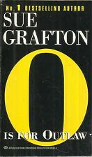 """SUE GRAFTON  """"O"""" IS FOR OUTLAW"""