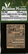 Passion Models 1/35 U.S Willys MB Jeep PE set for Tamiya, P35-080