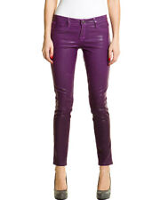 BleuLab Reversible Zebra Print & Purple Coated Denim Legging $238, szie 24