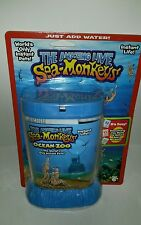 THE AMAZING LIVE SEA-MONKEYS MARINE ZOO BLUE TANK (BRAND NEW)
