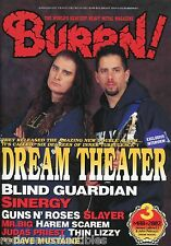 Burrn! Heavy Metal Magazine March 2002 Japan Dream Theater Guns N' Roses