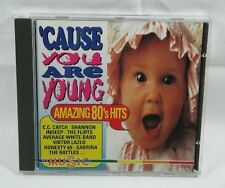 'Cause you are young-Amazing 80's Hits (15 tracks) C.C. Catch, Flirts, In.. [CD]
