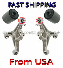 JAGUAR XJ S TYPE Rear Lower Control Arm Arms BUSHING Bushings SET 2 - Both Arms
