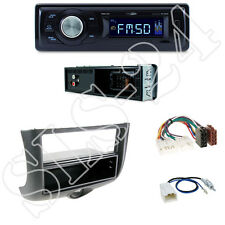 Caliber RMD021 Autoradio + Toyota Yaris 04/99-02/03  Blende black + ISO Adapter