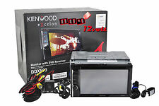 "KENWOOD EXCELON DDX593 6.2"" DOUBLE DIN MONITOR +  BACKUP CAMERA + PARKING LINE"