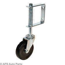 Gate Castor Swivel Spring-Loaded 100Mm 57Kg Trolley Jockey Wheel Accessories