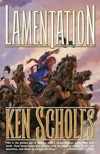 SIGNED 1st US print/edition Lamentation 1 by Ken Scholes (2009, Hardcover)