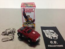 Transformers Takara Tomy G1 Keychain Windcharger 100% Complete