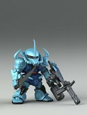 Gundam Gouf Custom Resin SD Recast Brand New Free Shipping!!!!
