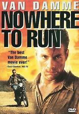 Nowhere to Run DVD USED VG condition Jean Claude Van Damme Arquette Levine