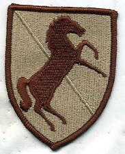 US Army 11th Armored Cavalry DCU Desert Tan Patch RIGHT