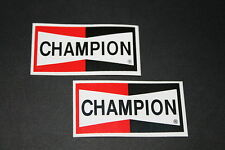 +022 champion Bougie D'Allumage Bougie sparkplug autocollant sticker autocollant technique