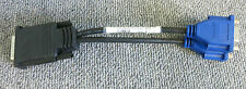 Dell G9438 Molex DMS-59 Male To Dual VGA Female Y Splitter 9 Inches Long Cable