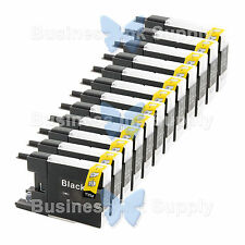 12 BLACK LC71 LC75 NON-OEM Ink for BROTHER MFC-J430W LC-71 LC-75 LC71BK LC75BK