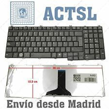 NEW KEYBOARD TOSHIBA L350 L350D L355D L505D SPANISH BLACK