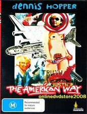 The AMERICAN WAY (Dennis HOPPER) Cult Black COMEDY Film DVD (NEW & SEALED)