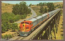 VINTAGE RAILROAD POSTCARD UNUSED SAN FRANCISCO CHIEF EN ROUTE LOCOMOTIVE 59