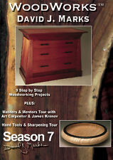 David J Marks WoodWorks Season 7 DVD Woodworking Furniture Instruction DIY Video