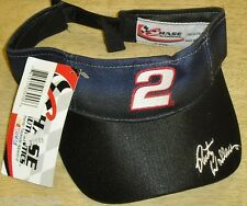 Rusty Wallace #2 Nascar Racing Visor hat Adjustable NEW W.TAGS! Chase Authentics