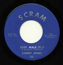 SONNY JONES 'Sissy Walk' US Scram Nola Funk/Soul/Breaks 45 Eddie Bo VG++ HEAR!