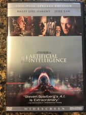 A.I. Artificial Intelligence (DVD, 2002, 2-Disc Set, Anamorphic Widescreen)