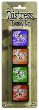 Tim Holtz Set 15 MINI DISTRESS INK PAD Ranger NEW color of the month In Stock
