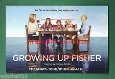 """NBC Growing Up Fisher 4"""" x 6"""" Collectible Post Card ~ Mailed To Fisher Family ~"""