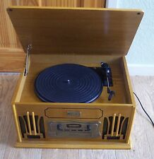 CLASSIC COLLECTORS EDITION TURNTABLE, CD & CASETTE PLAYER
