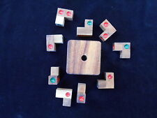Dice Cube Challenge - wood brain teaser puzzle wooden