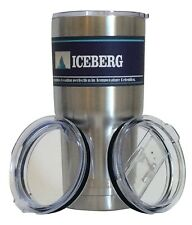 Iceberg 30 Oz. Cup Double Wall Insulated Stainless Steel Travel Tumbler Mug -...