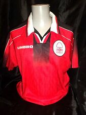 Nottingham Forest home shirt 1995-97 umbro PLAYER ISSUE unsponsored