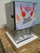 """BNIB """"SILVER KING"""" COMMERCIAL REFRIGERATED 3 FLAVORS COFFEE CREAMER DISPENSER"""