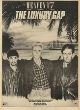 30/4/83PN18 ADVERT: HEAVEN 17 ALBUM THE LUXURY GAP 15X11
