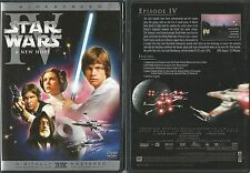 STAR WARS IV A NEW HOPE WIDESCREEN DVD RARE OOP