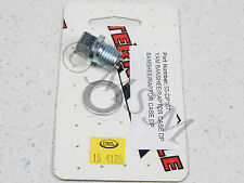 YAMAHA NEW K&L MAGNETIC OIL DRAIN PLUG BOLT w/ WASHER M-15-4125